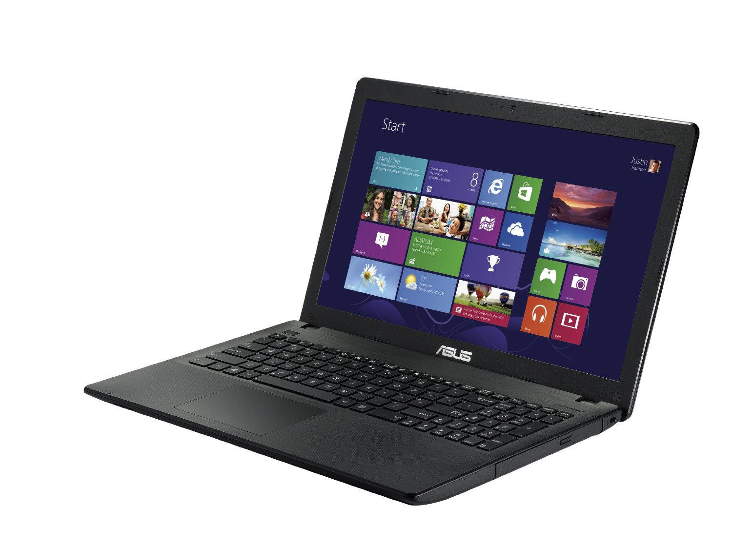 "Asus X551MAV-SX970H Notebook, LCD 15.6"" HD, Processore Intel Celeron N2840, RAM 4 GB, Hard Disk 500 GB, Nero"