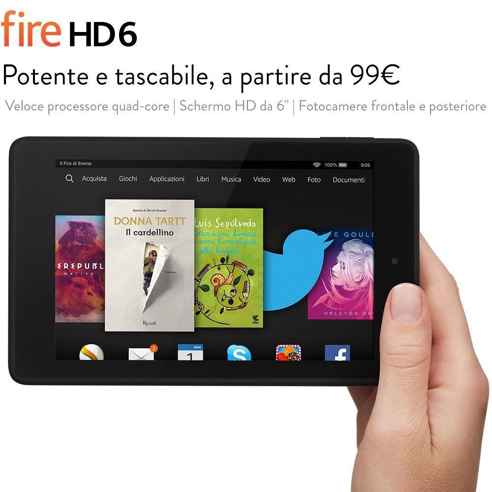 tablet fire hd 6