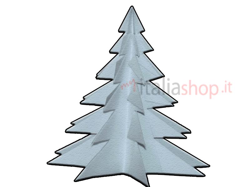 come fare un albero di Natale con un foglio di carta, albero di Natale fai da te, albero di Natale con foglio A4, albero di Natale di carta
