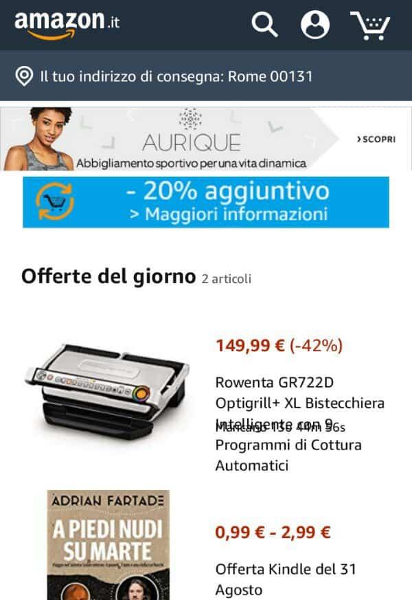 Come trovare prodotti su Amazon a meno di dieci euro